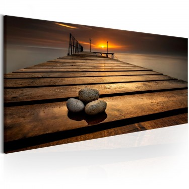 Obraz  Kamienie na molo