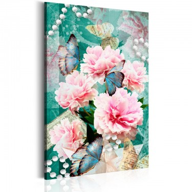 Obraz  Zapisane w kwiatach