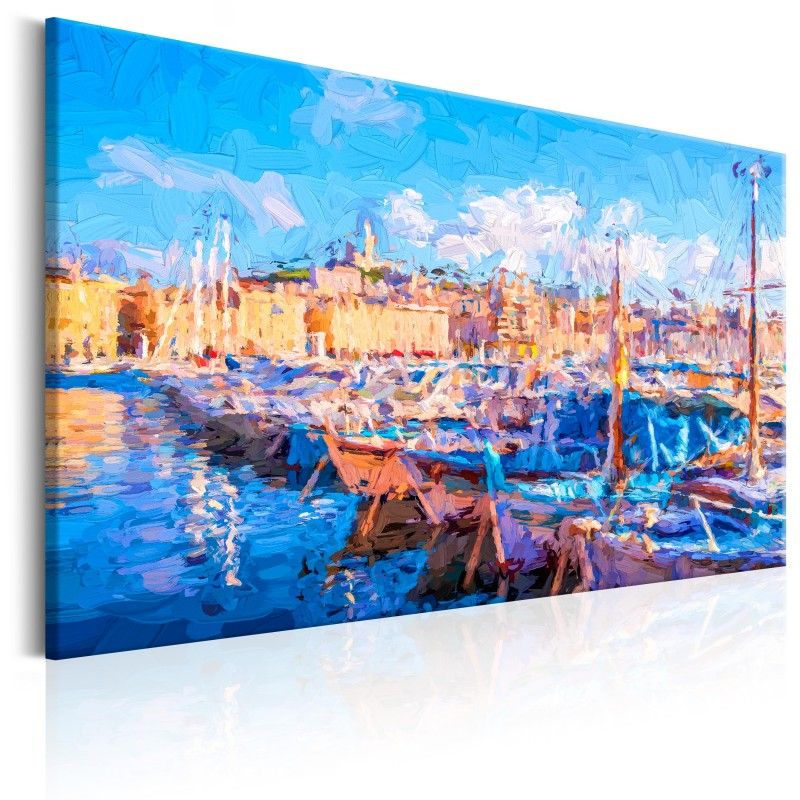 Obraz  Błękitny port