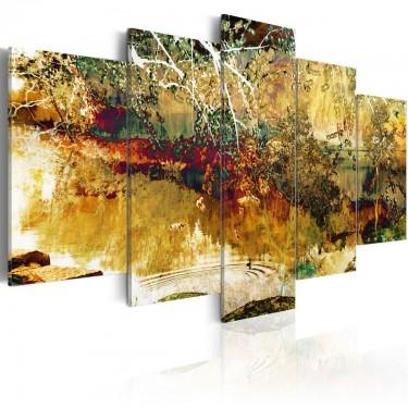 Obraz  ogród abstrakcja