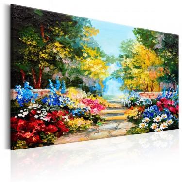 Obraz  Zaułek kwiatów