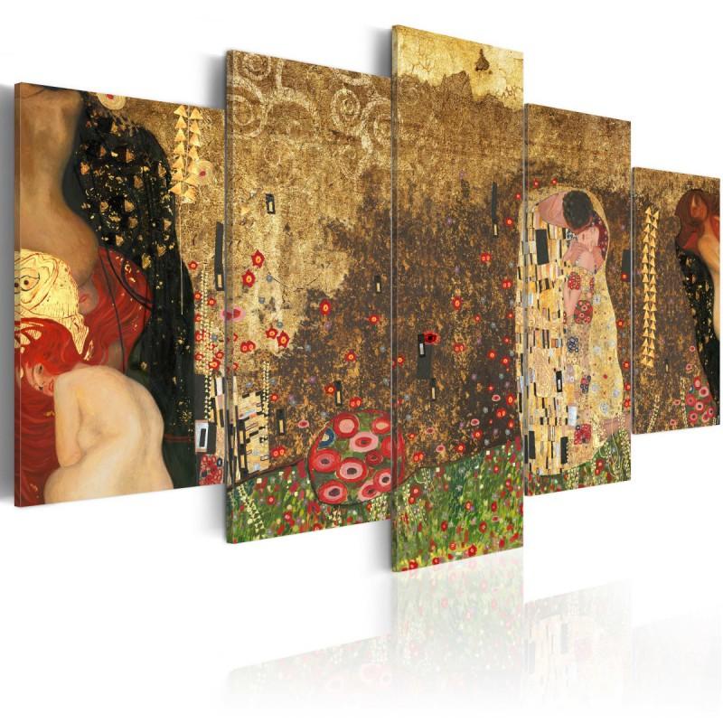 Obraz  Klimts muses