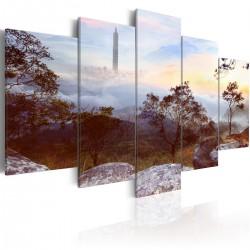 Obraz - Wieża i horyzont