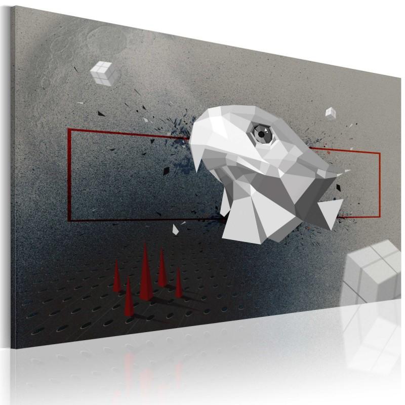 Obraz  orzeł  3D