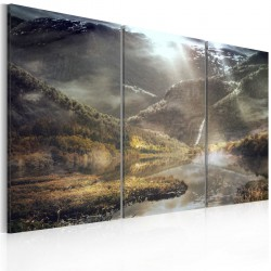 Obraz  The land of mists  triptych