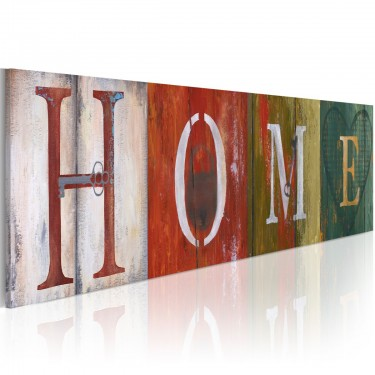 Obraz - Welcome home!