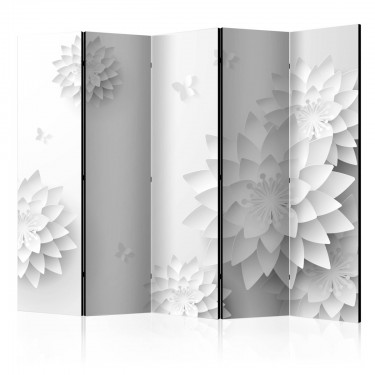 Parawan 5częściowy  Orientalne kwiaty [Room Dividers]
