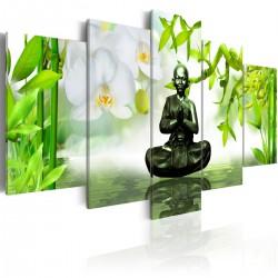Obraz - Budda z mosiądzu