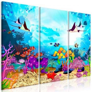 Obraz  Podwodna zabawa (3częściowy)
