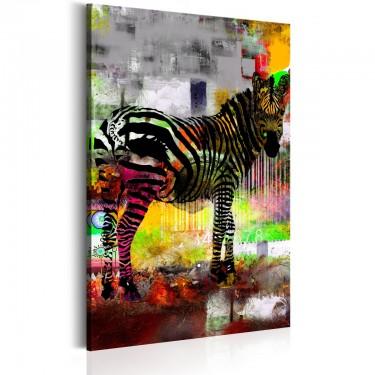 Obraz  Kolorowy zwierzyniec