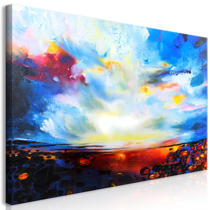 Obraz  Kolorowe niebo (1częściowy) szeroki