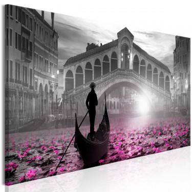 Obraz  Magiczna Wenecja (1częściowy) wąski szary