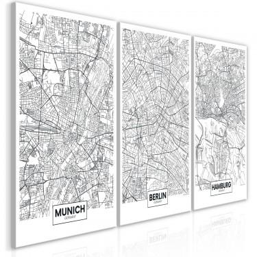 Obraz  Niemieckie metropolie (kolekcja)