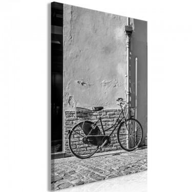 Obraz  Stary włoski rower (1cześciowy) pionowy