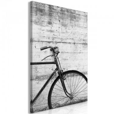 Obraz  Rower i beton (1częściowy) pionowy
