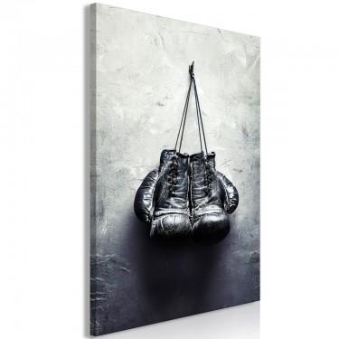 Obraz  Rękawice bokserskie (1częściowy) pionowy