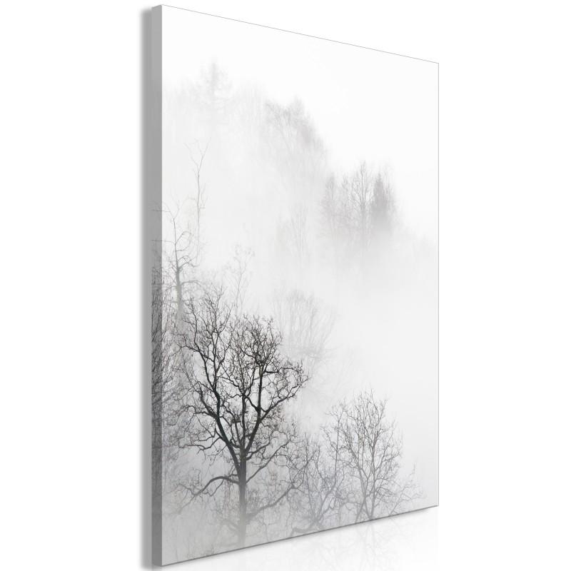 Obraz  Drzewa we mgle (1częściowy) pionowy