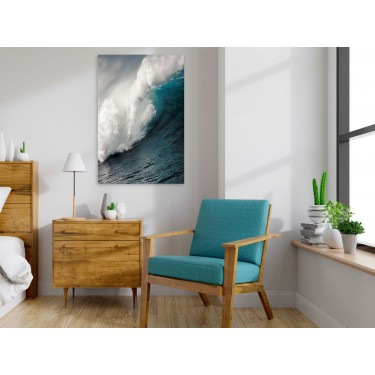 Obraz  Fala oceanu (1częściowy) pionowy