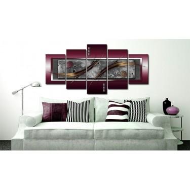 Obraz  Burgundowa elegancja