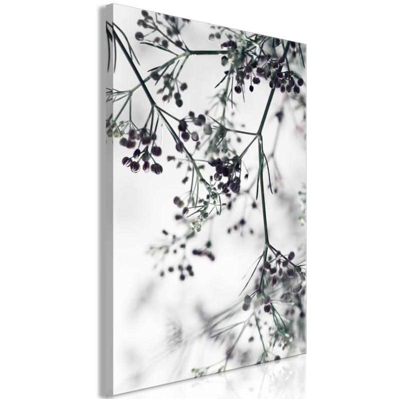 Obraz  Kwitnące gałązki (1częściowy) pionowy