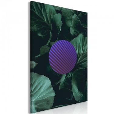 Obraz  Botaniczna abstrakcja (1częściowy) pionowy