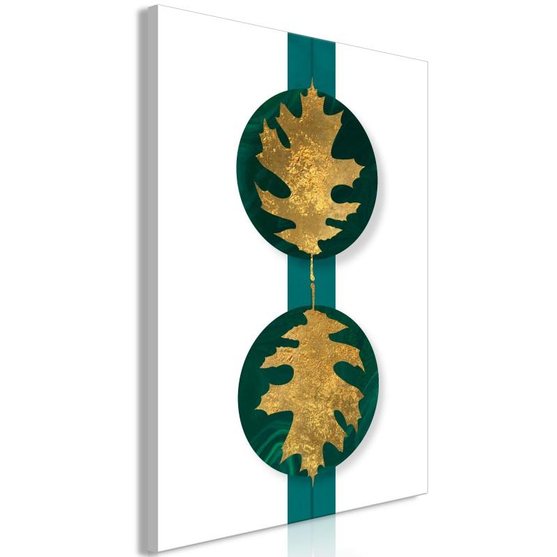 Obraz  Zielone bogactwo (1częściowy) pionowy