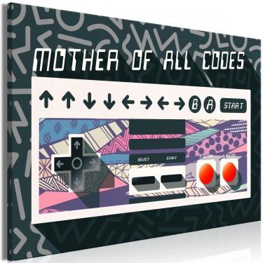 Obraz  Mother of all codes (1częściowy) szeroki