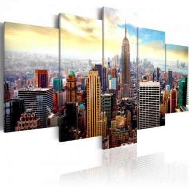 Obraz  Serce miasta