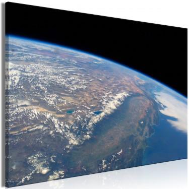 Obraz  Potęga ziemi (1częściowy) pionowy