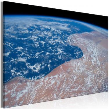 Obraz  Woda i piasek (1częściowy) szeroki