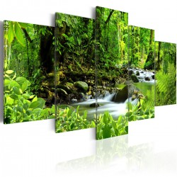 Obraz  In the mighty jungle...