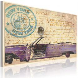 Obraz - Stare listy z Nowego Jorku