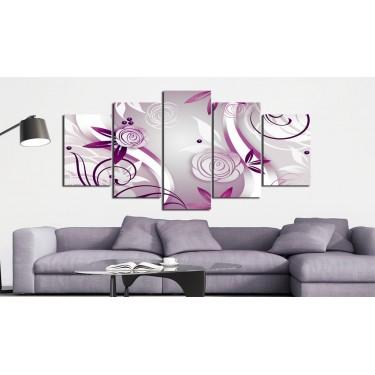 Obraz  Fioletowe róże