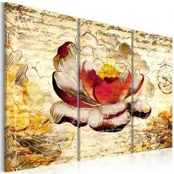 Obraz - Kwiat w stylu retro