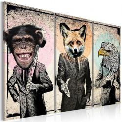 Obraz - Małpi interes
