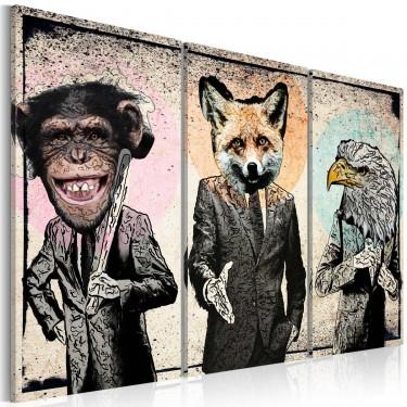 Obraz  Małpi interes
