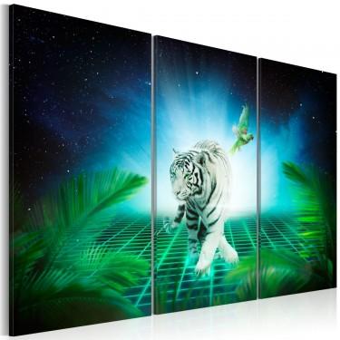 Obraz  Lodowy tygrys