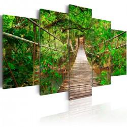 Obraz  Spacer pośród drzew