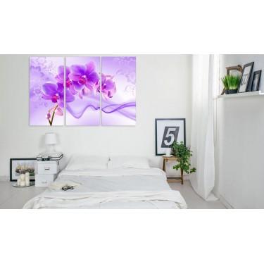 Obraz  Eteryczna orchidea  fiolet