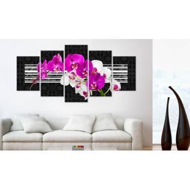 Obraz  Skromne orchidee