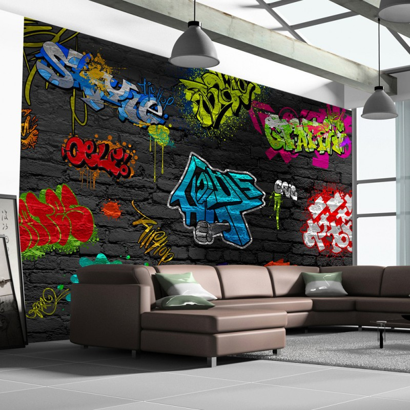 Fototapeta Graffiti wall