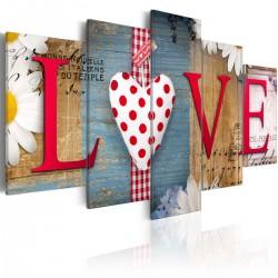 Obraz - LOVE - handmade