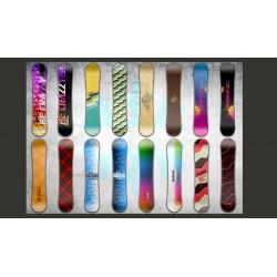 Fototapeta  Snowboard wall