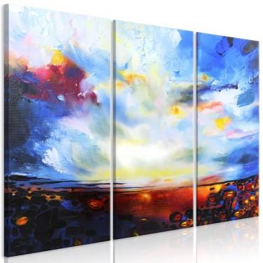 Obraz  Kolorowe niebo (3częściowy)