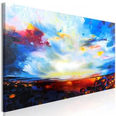 Obraz  Kolorowe niebo (1częściowy) wąski