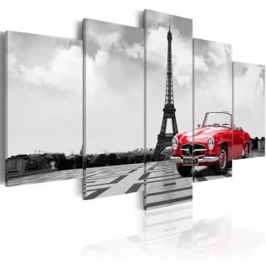 Obraz  Paryski samochód