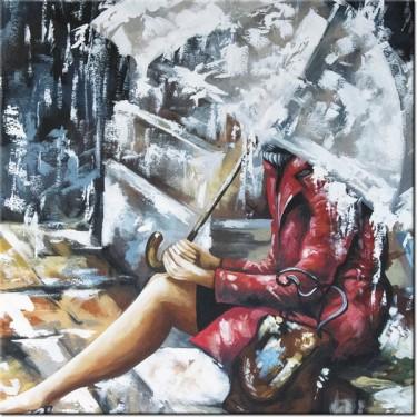 Obraz Deszczowa dziewczyna