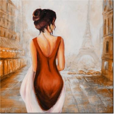 Obraz Spacer w Paryżu