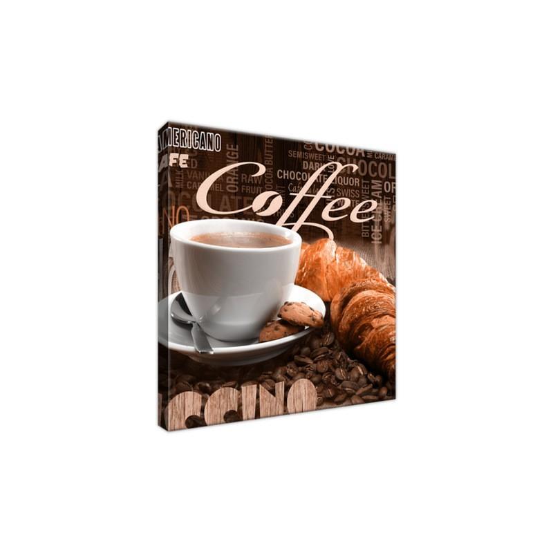 Obraz Apetyczna kawa w brązach