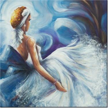 Obraz Błękitna dama